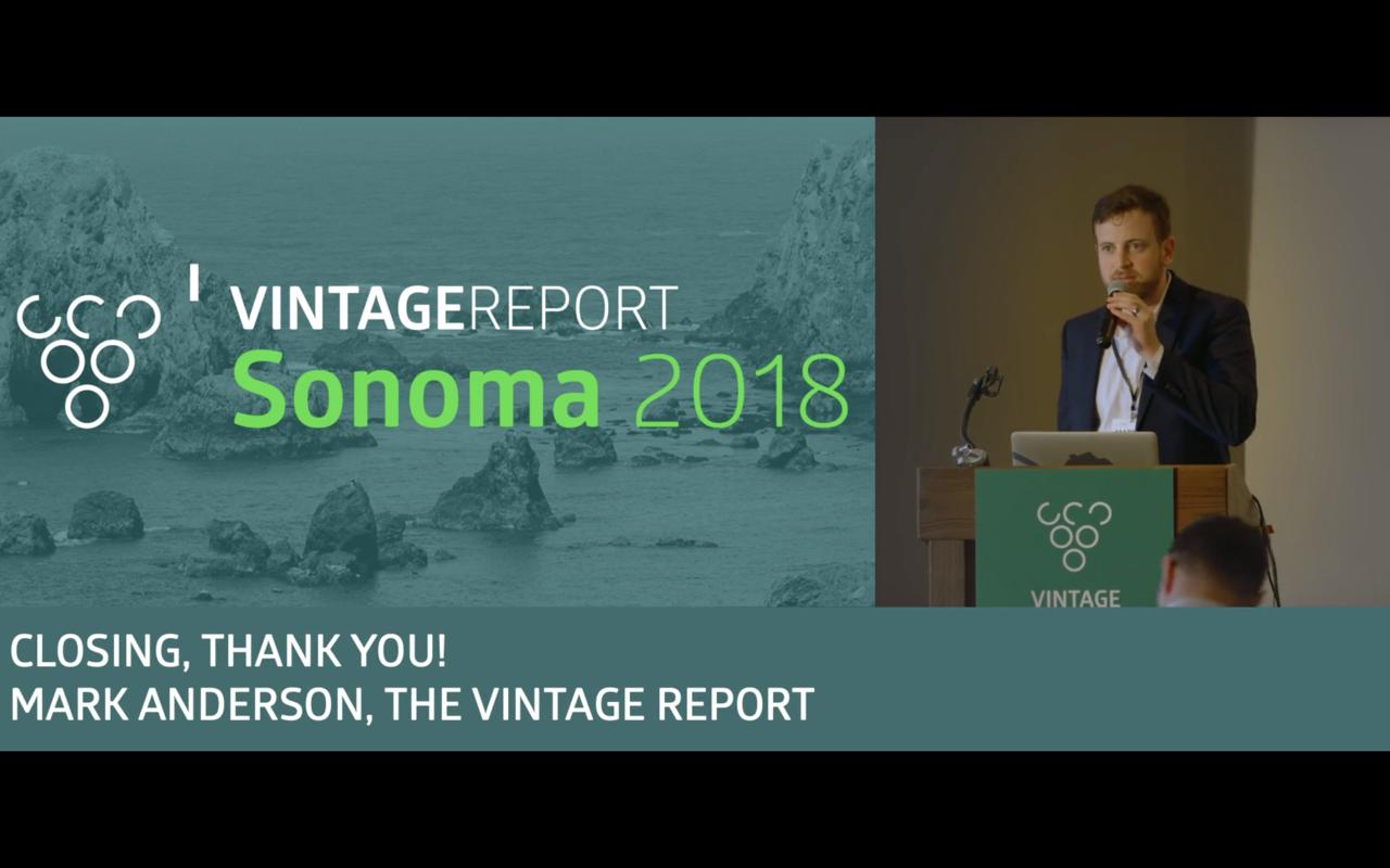 Sonoma 2018 - Mark Anderson - Conclusion
