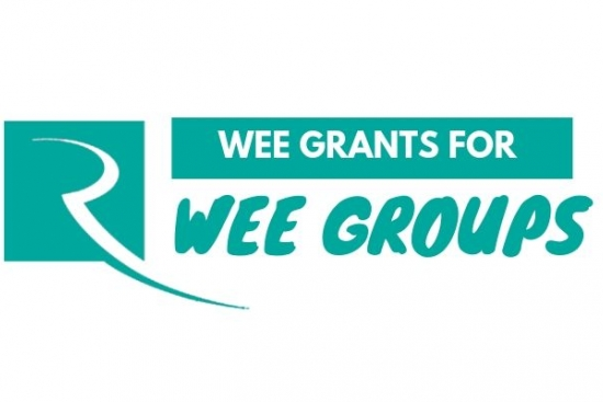 Wee grants for wee groups logo