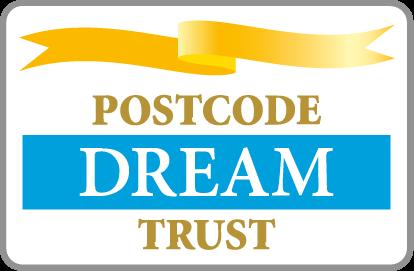 postcode         dream trust logo