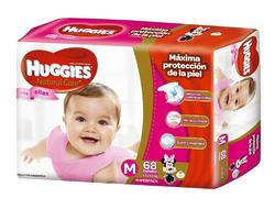Huggies Natural care Ellas M x68