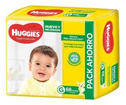 Huggies Triple proteccion G x 60