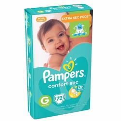 Pampers Confort sec G x72
