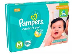 Pampers Confort sec M x86