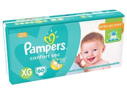Pañales Pampers Confort Sec XG x 60