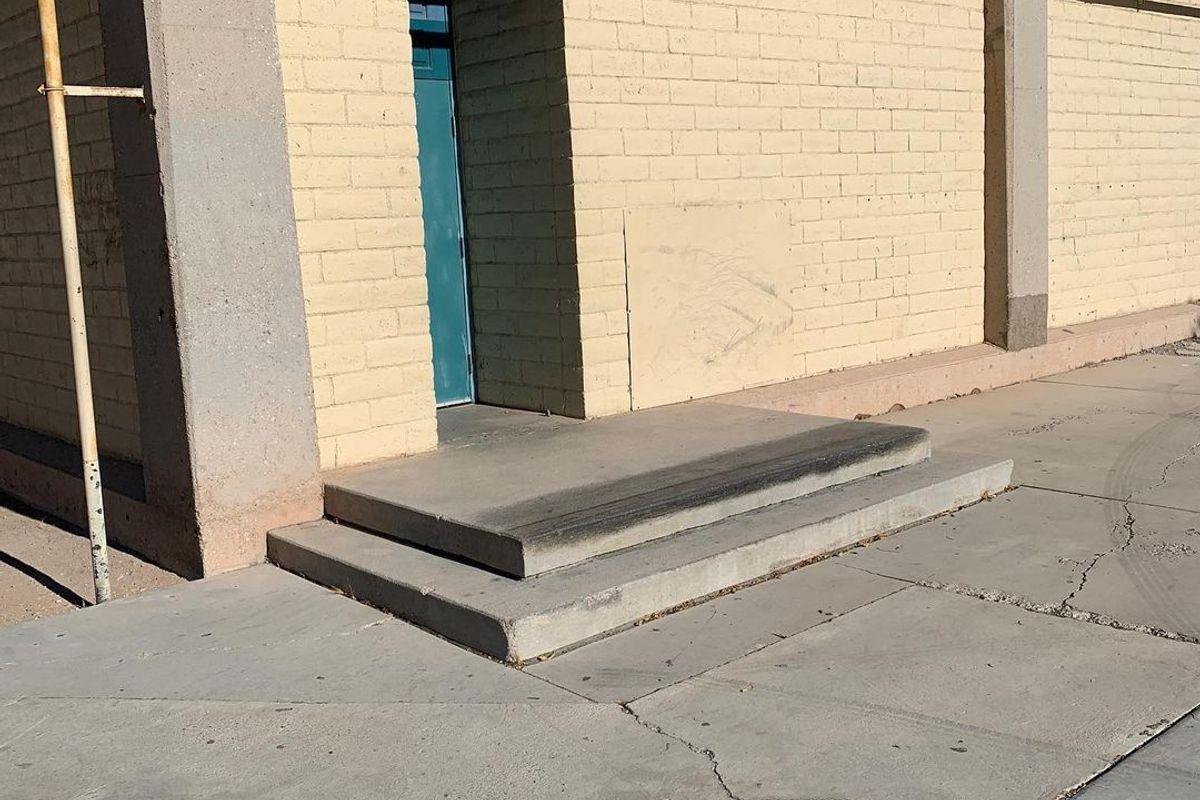 Image for skate spot 9th Bridge School 2 Stair Ledge