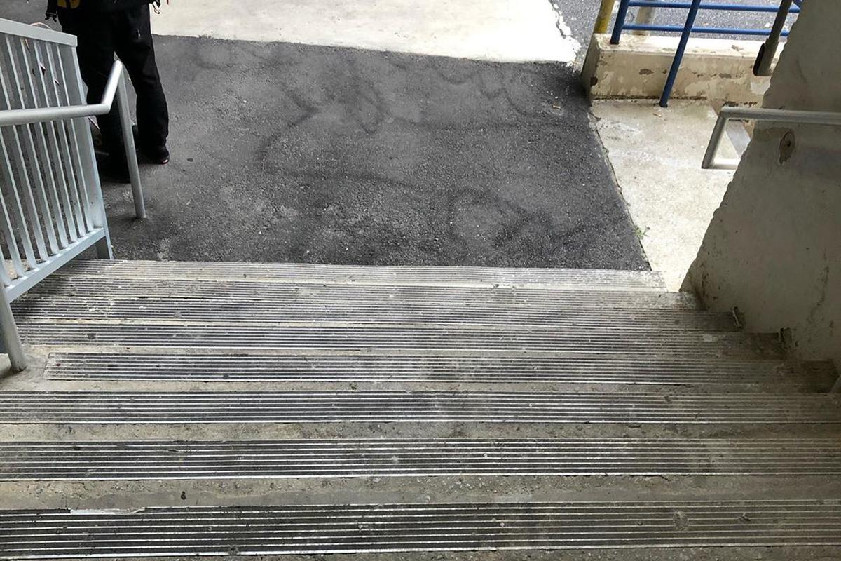 Image for skate spot GSU Blue 9 Stair