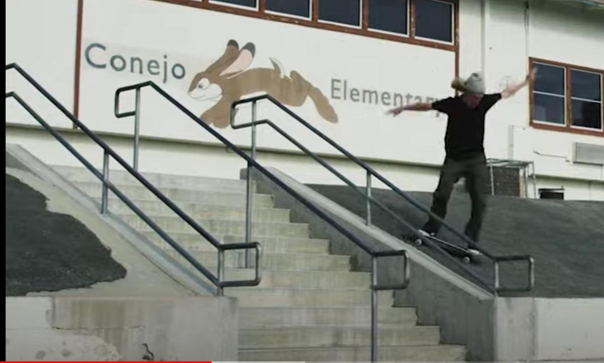 Image for skate spot Conejo Elementary School - Over Rail Into Bank