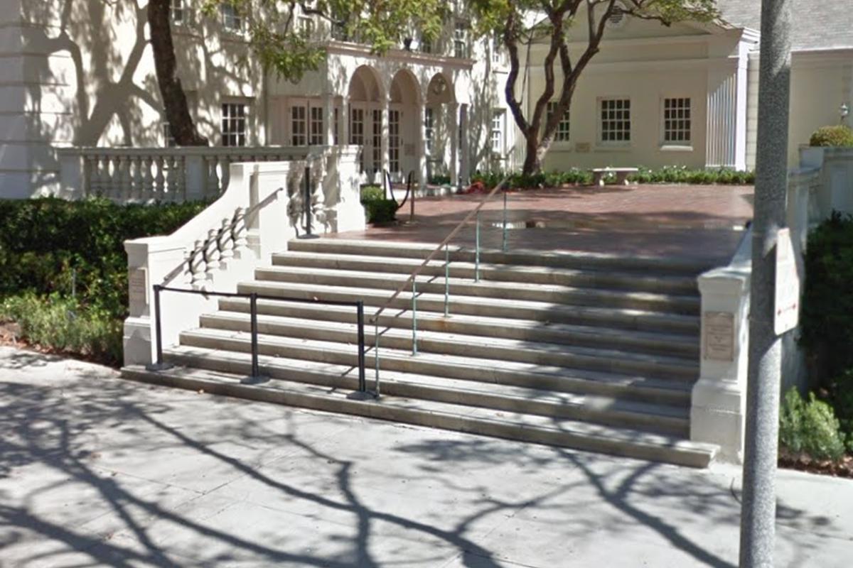Image for skate spot Nessah 9 Stair Rail