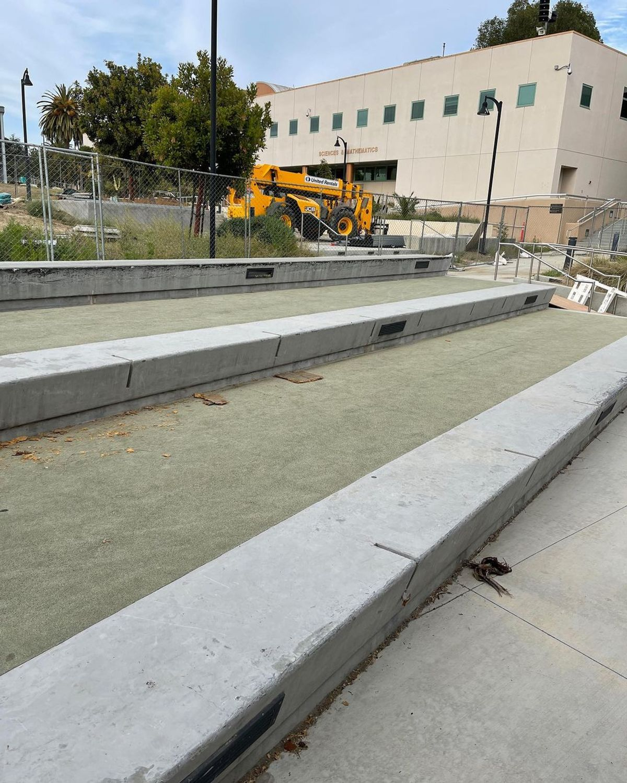 Image for skate spot Ventura College - Science Center Ledges