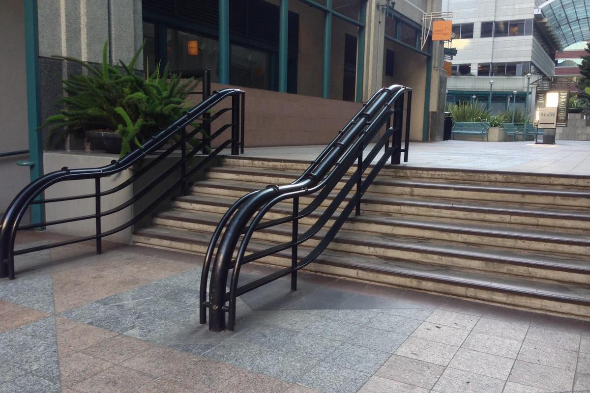 Image for skate spot Black Rail