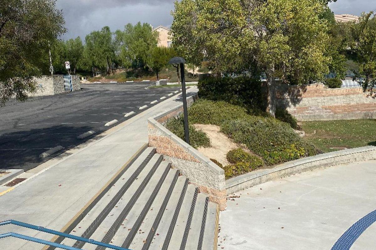 Image for skate spot Stevenson Ranch Elementary School Gap Over Hubba