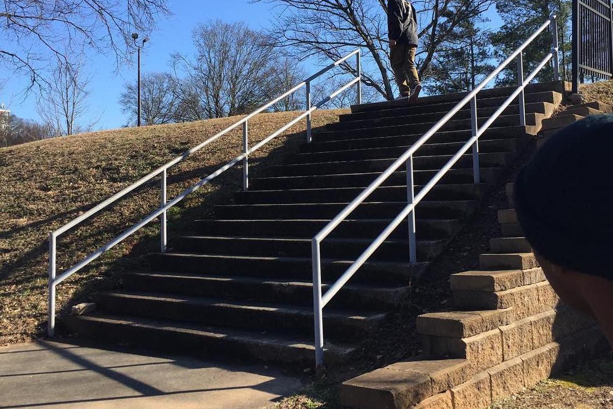 Image for skate spot 16 Stair Rail