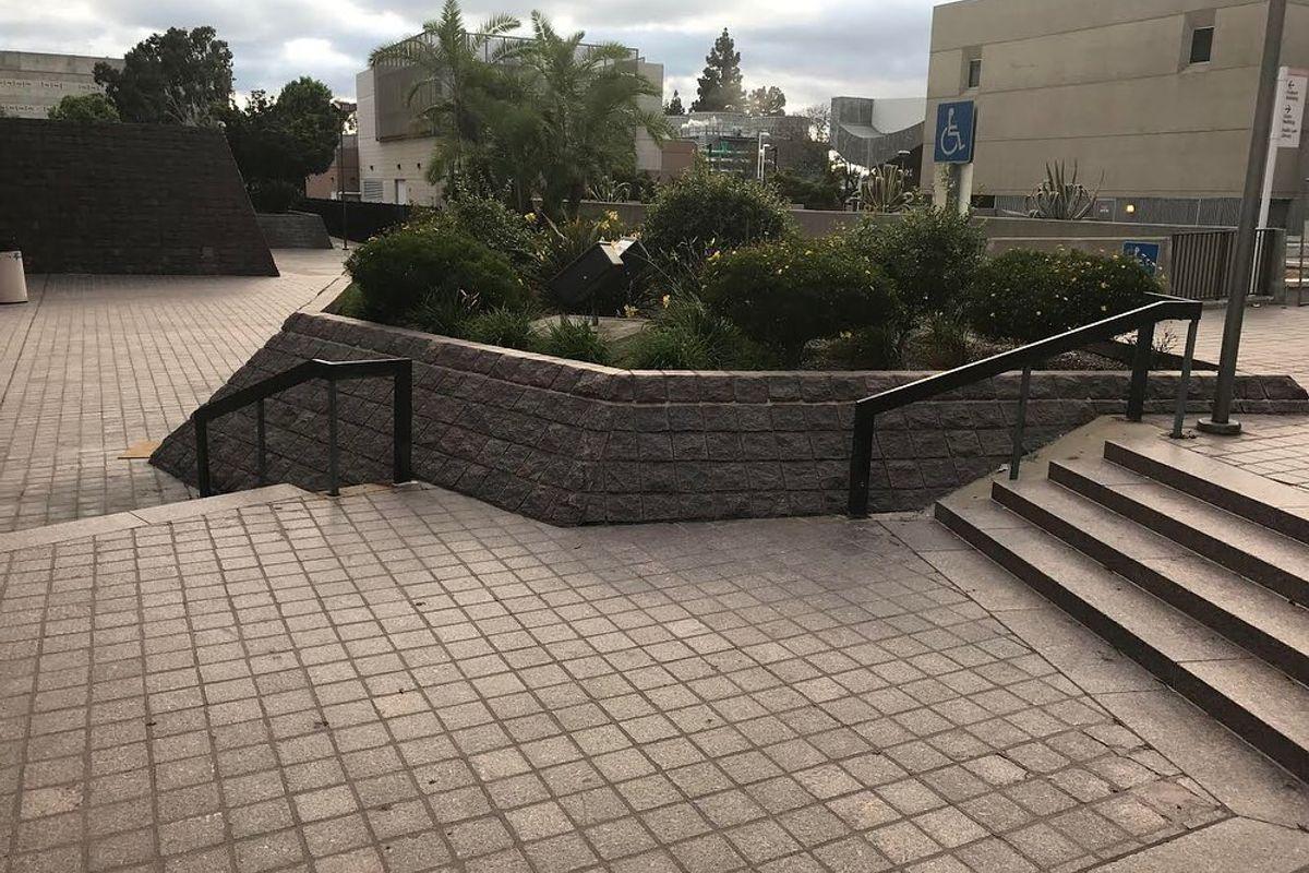 Image for skate spot Civic Center Plaza Rails
