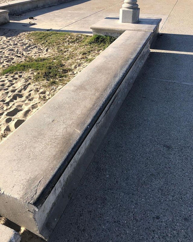 Image for skate spot Ocean Park Ledges