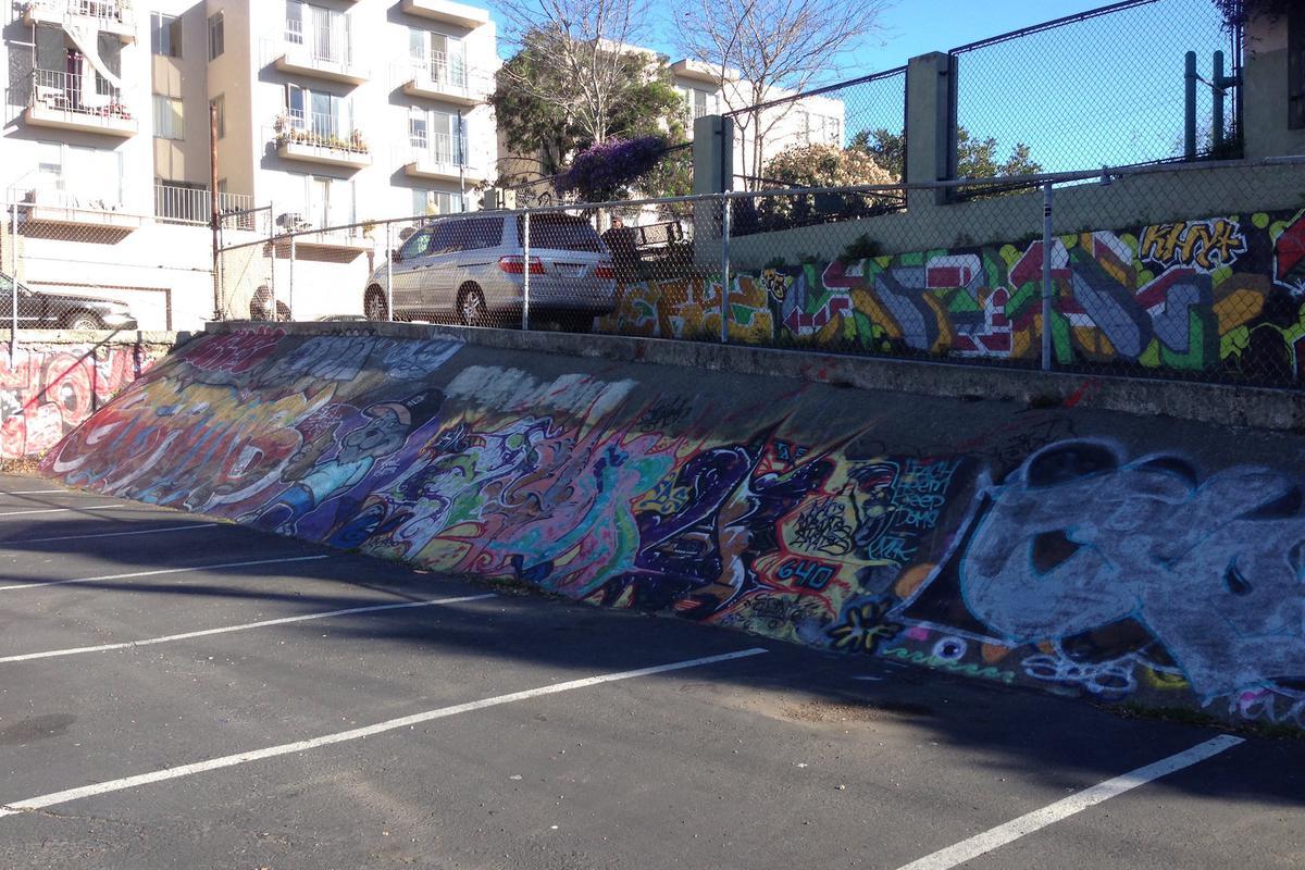 Image for skate spot Graffiti Banks