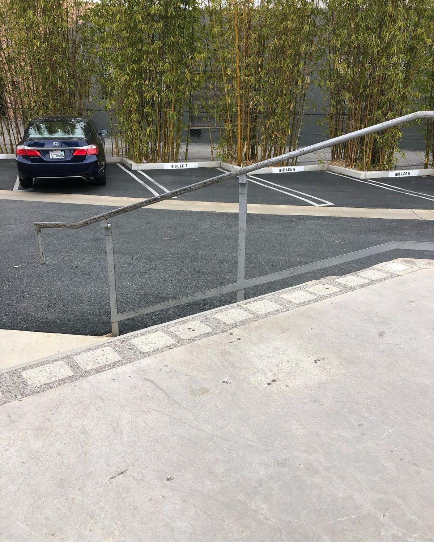 Image for skate spot Sid Lee - 5 Stair Gap Over Rail
