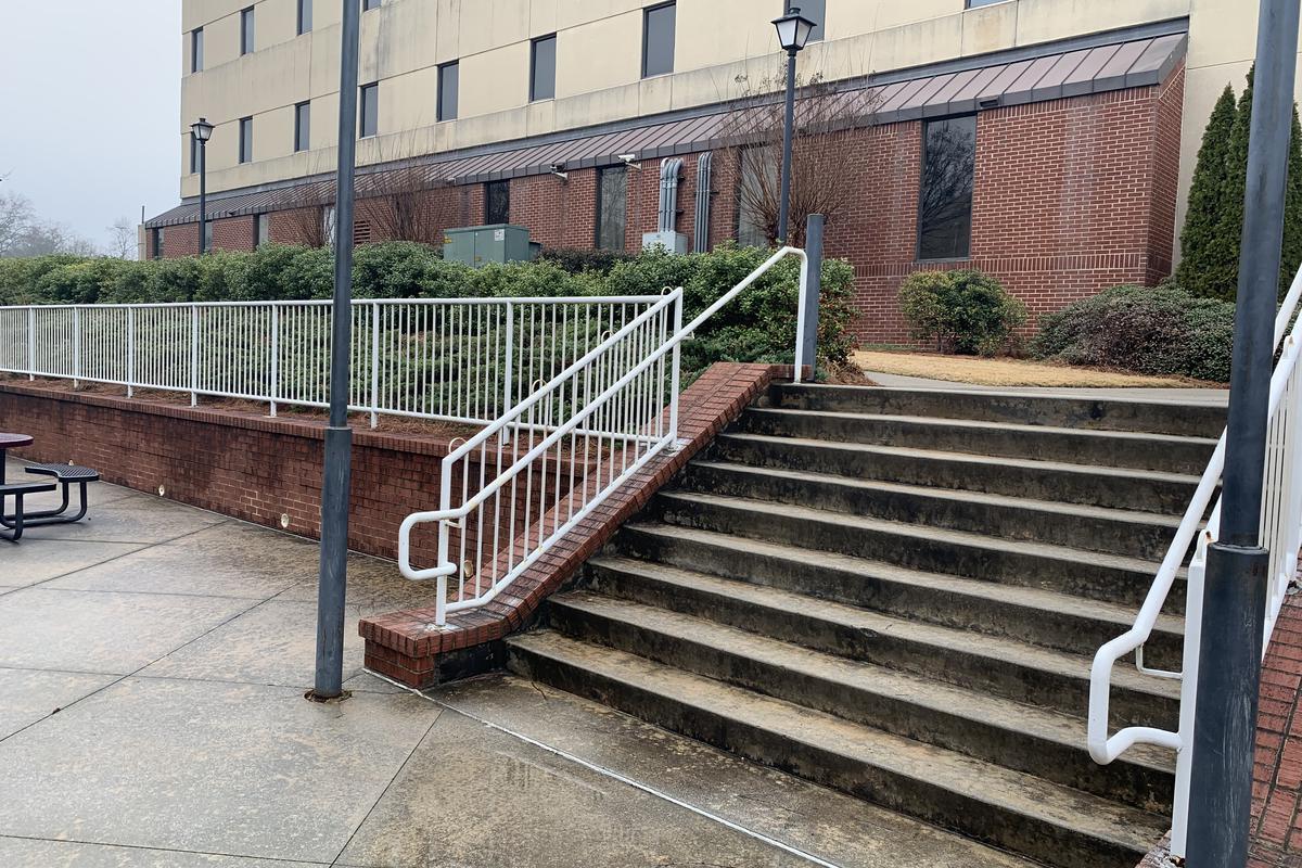 Image for skate spot Roswell Street 9 Stair