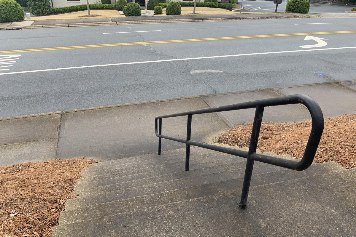 Image for skate spot 10 Stair Handrail