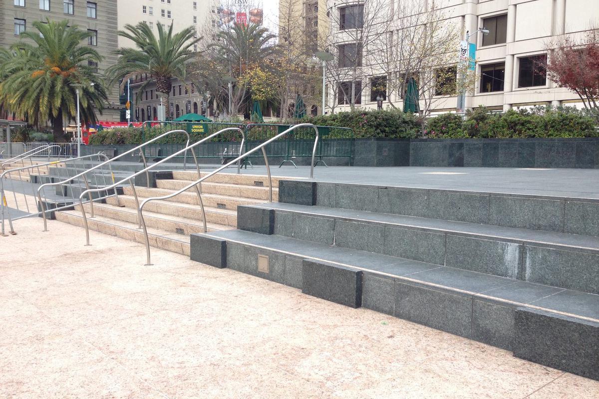 Image for skate spot Union Square 3 Block