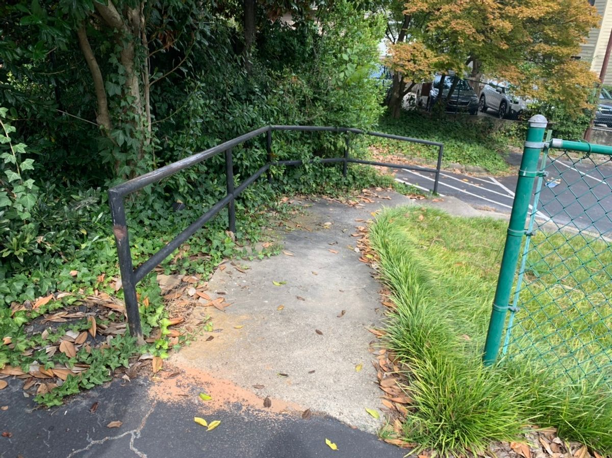 Image for skate spot 1275 Peachtree - Curve Rail