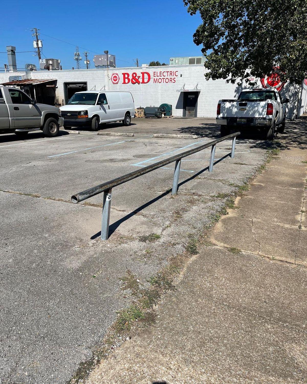 Image for skate spot B & D - Flat Rail