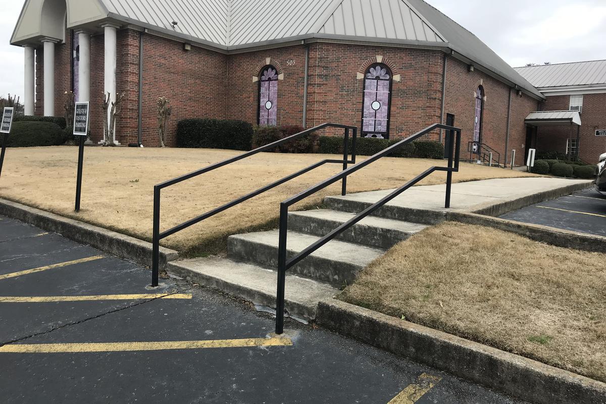 Image for skate spot Grace Pointe 4 Stair Handrail