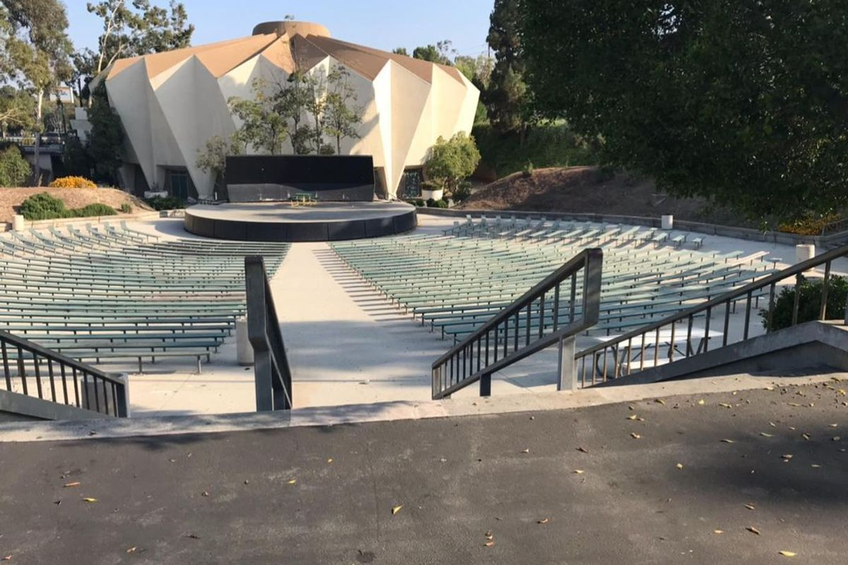 Image for skate spot Blair High School 14 Stair Rail