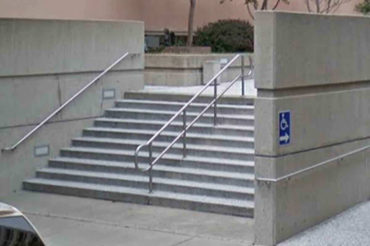 Image for skate spot 10 Stair Rail