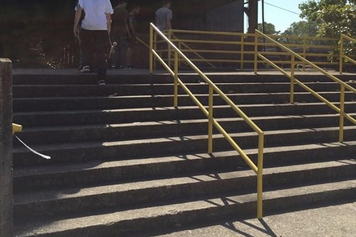 Image for skate spot SLOSS Furnaces 9 Stair Rail