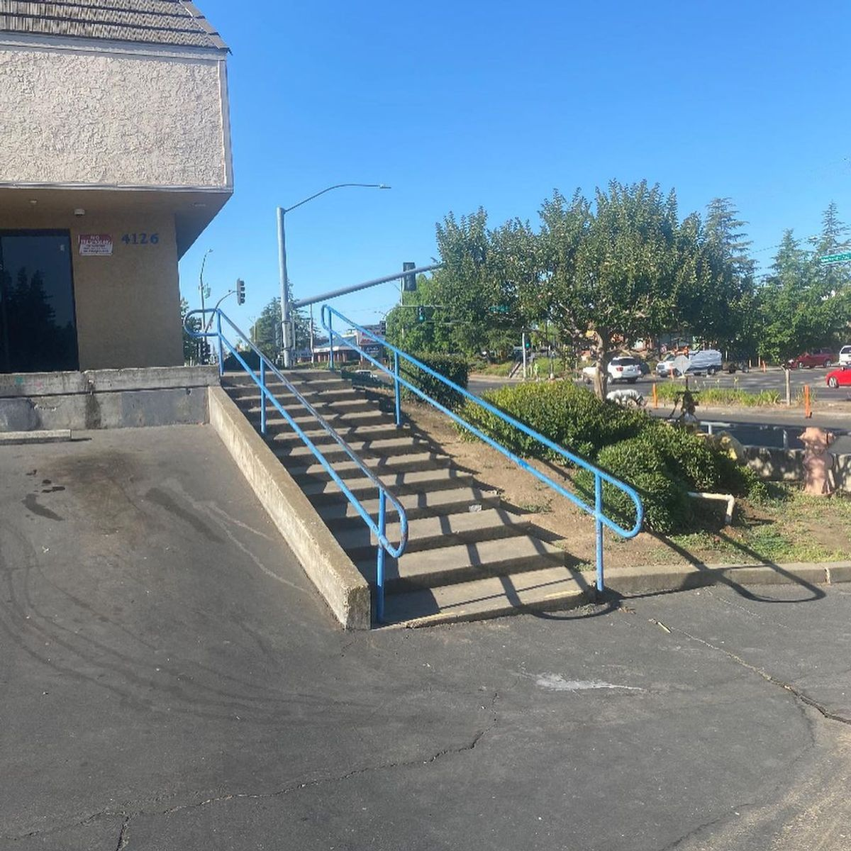 Image for skate spot Goodwill 13 Stair Rail
