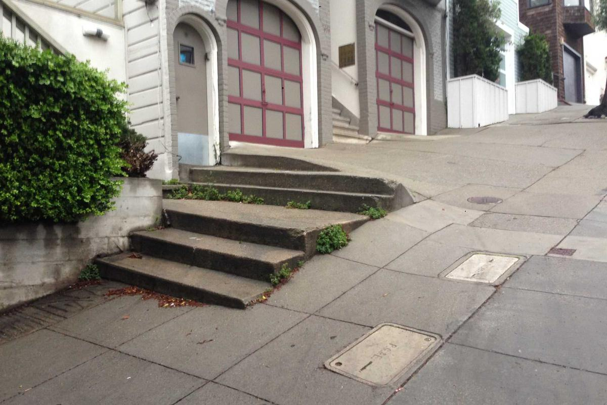 Image for skate spot North Beach Double Set