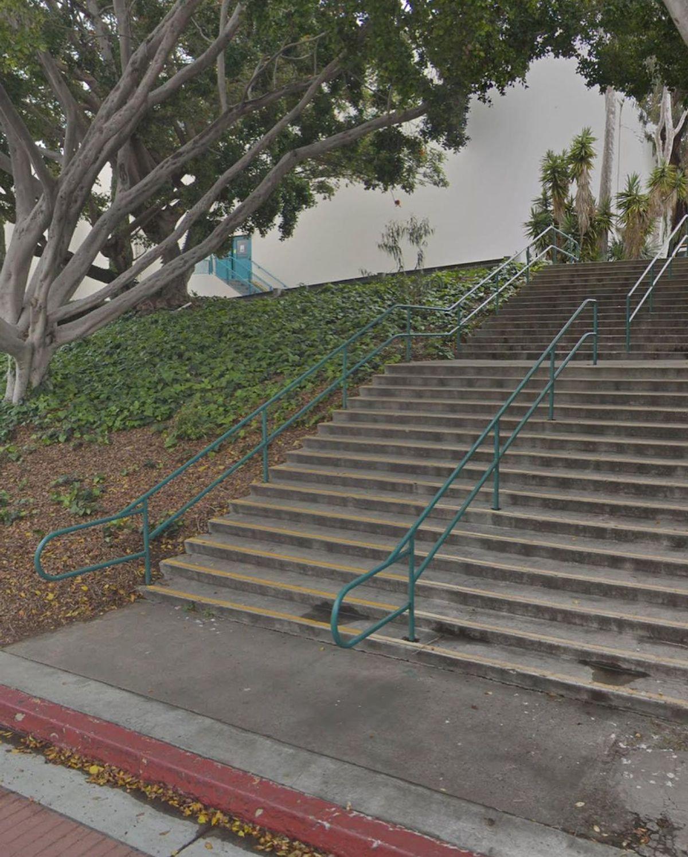 Image for skate spot SDSU - Double Set Rail