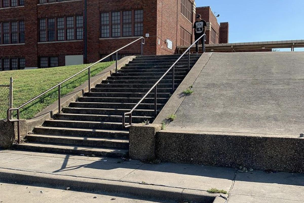 Image for skate spot J.P. Elder Over Rail To Bank