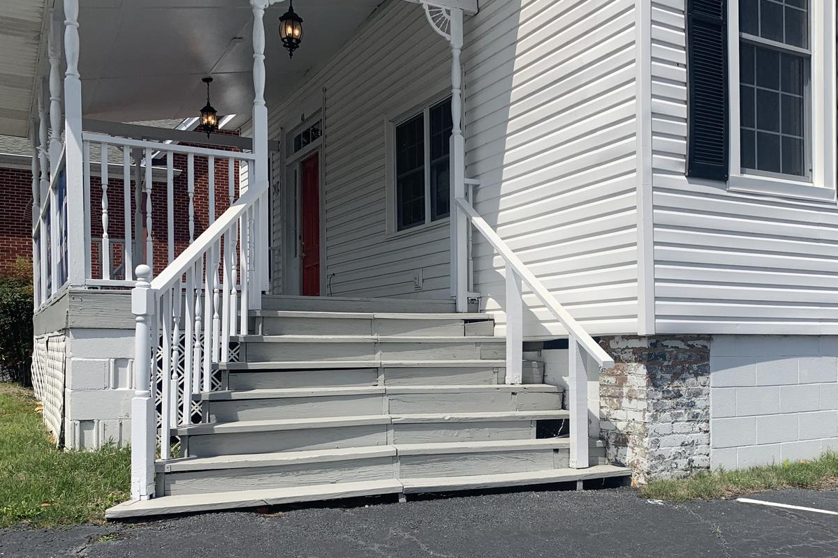 Image for skate spot 8/6 Stair Wood Rails