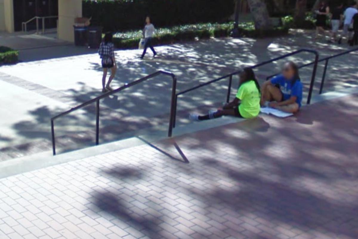 Image for skate spot 9 Stair Rail