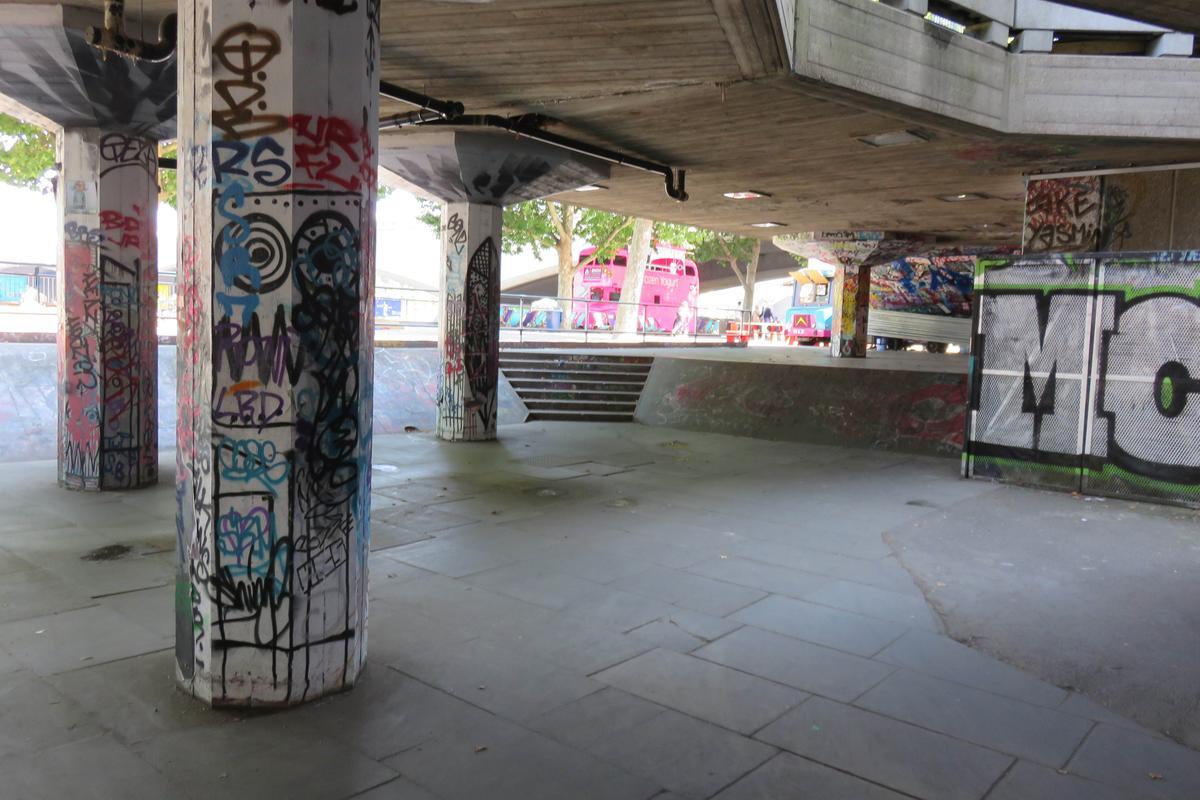 Image for skate spot South Banks