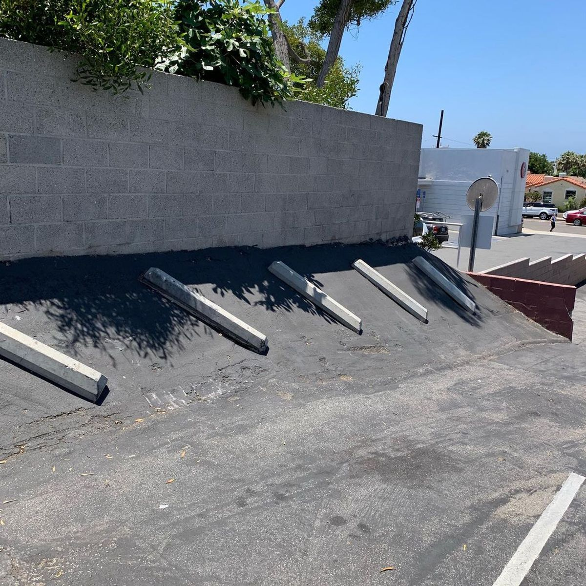 Image for skate spot Peet's Coffee - Wallride / Bump Over Rail