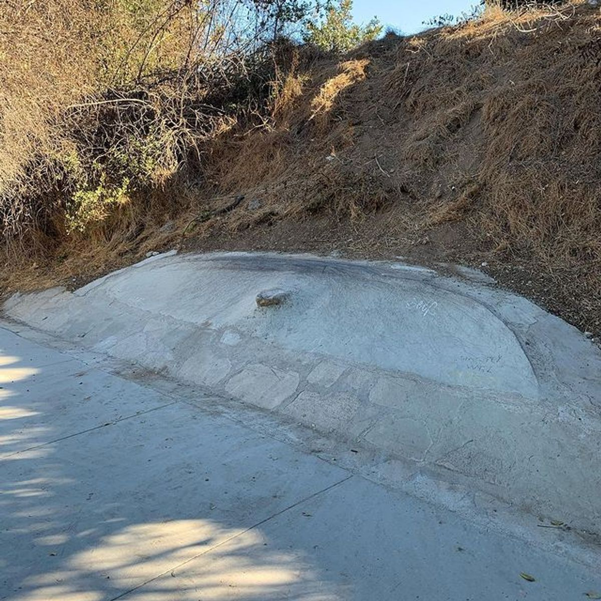 Image for skate spot South Pasadena Nature Park DIY Banks