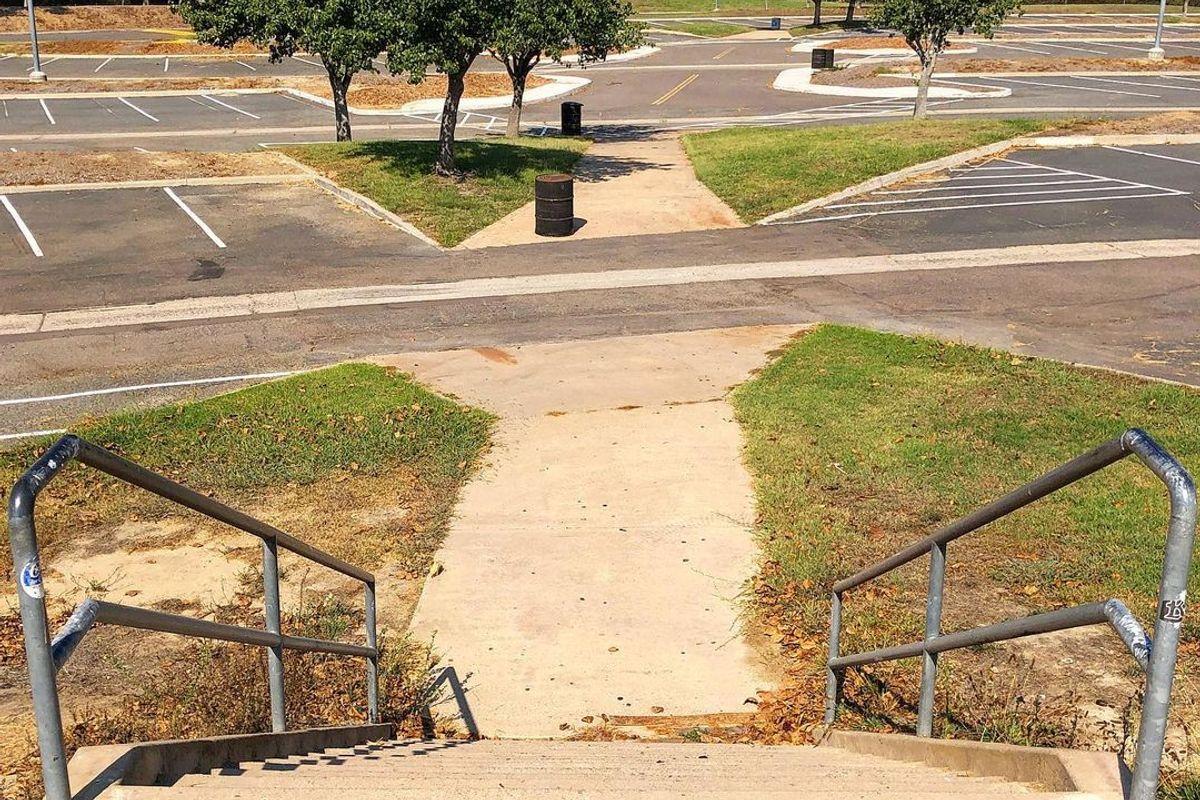 Image for skate spot Torrey Pines High 14 Stair Rail