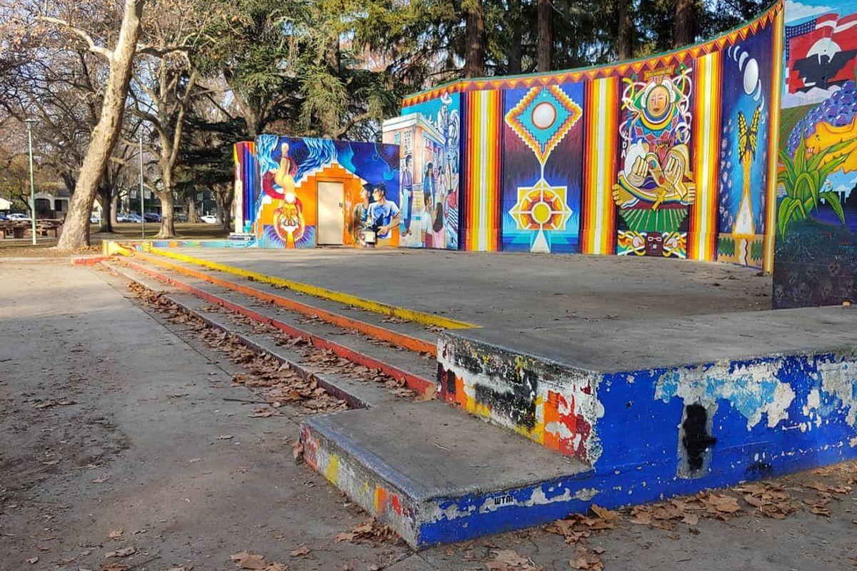 Image for skate spot Southside Park Ledges