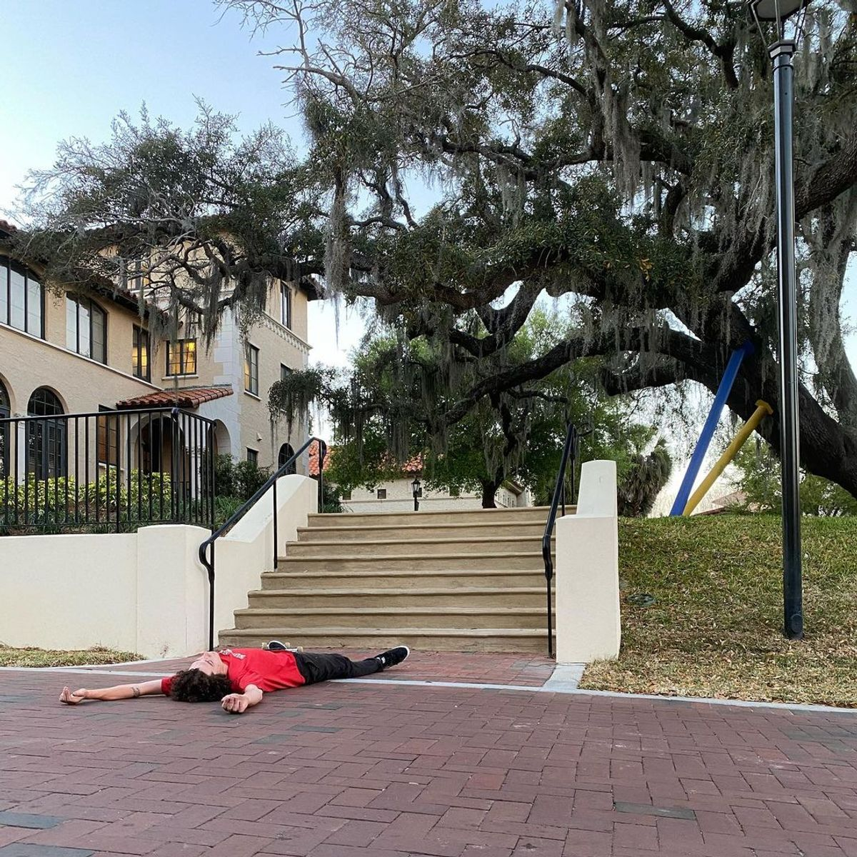 Image for skate spot Rollins College - 8 Stair