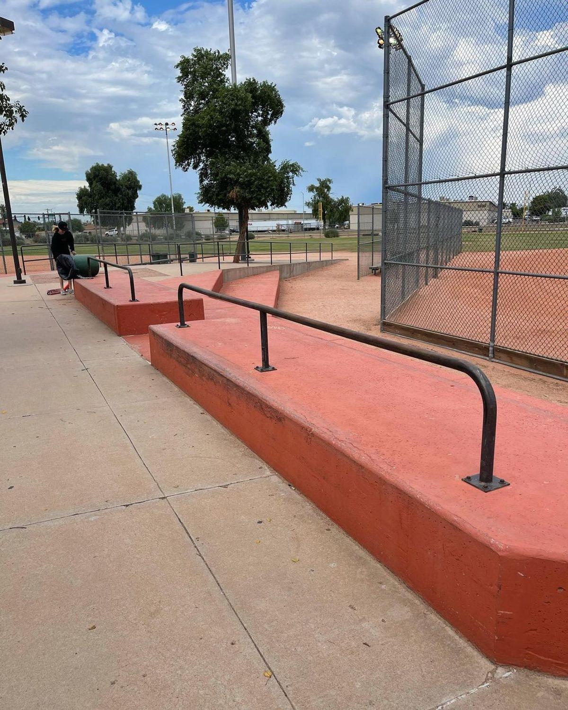 Image for skate spot Esteban Park - Ledges With Flat Rails