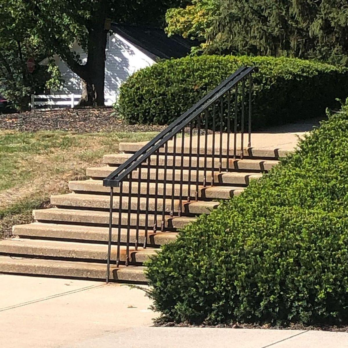 Image for skate spot Otterbein University - 9 Stair Rail