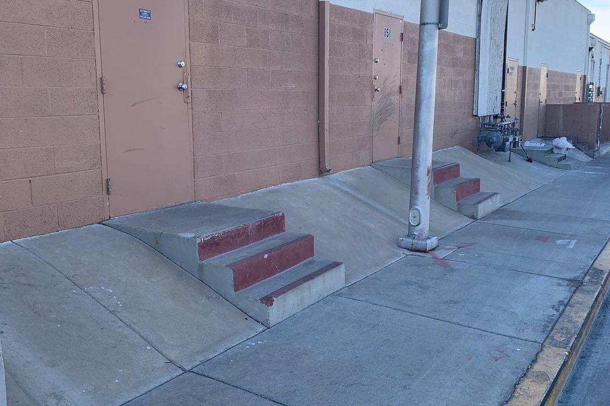 Image for skate spot Sausalito Banks
