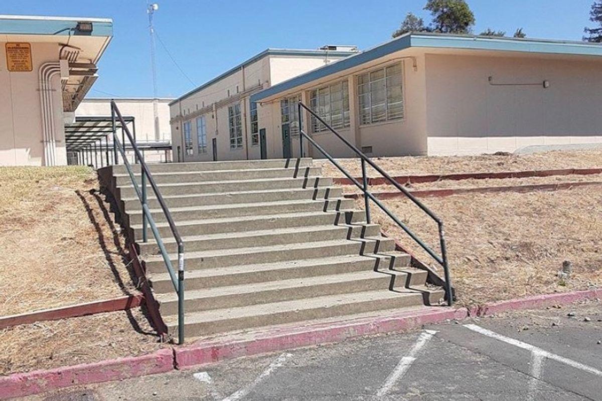 Image for skate spot San Juan High School 12 Stair Rail