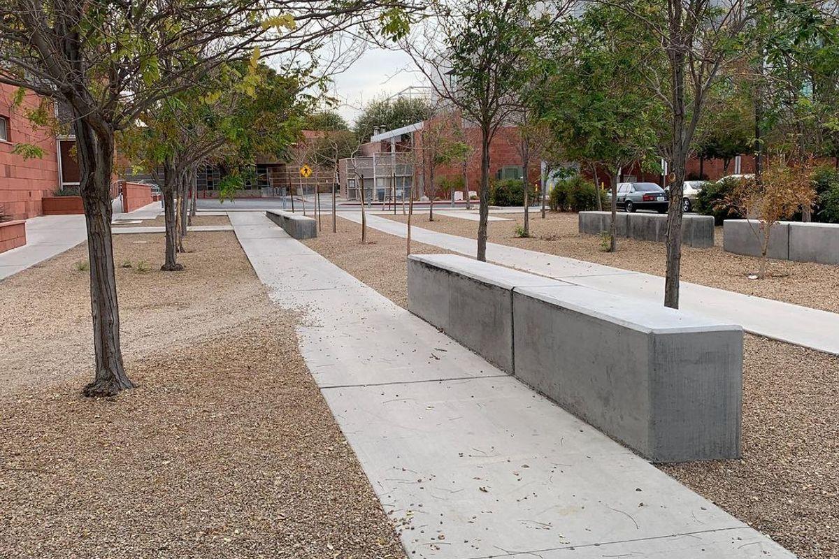 Image for skate spot University of Nevada Greenspun Ledges