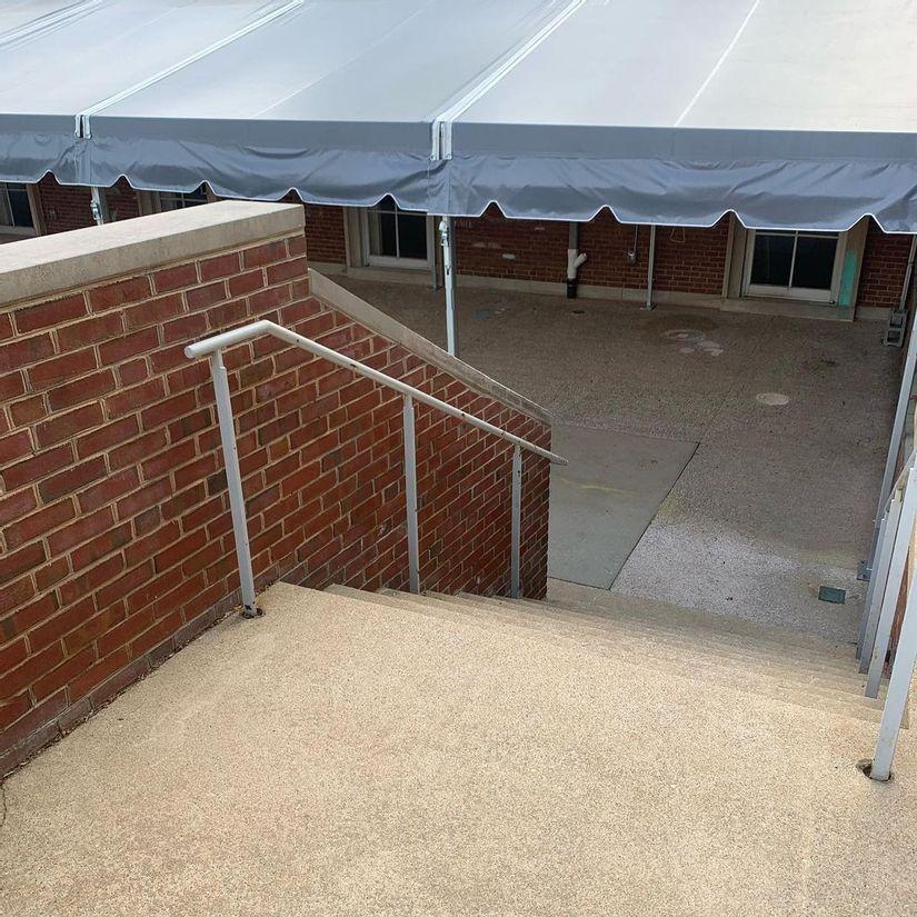 Image for skate spot Cambridge School - 9 Stair Hubba
