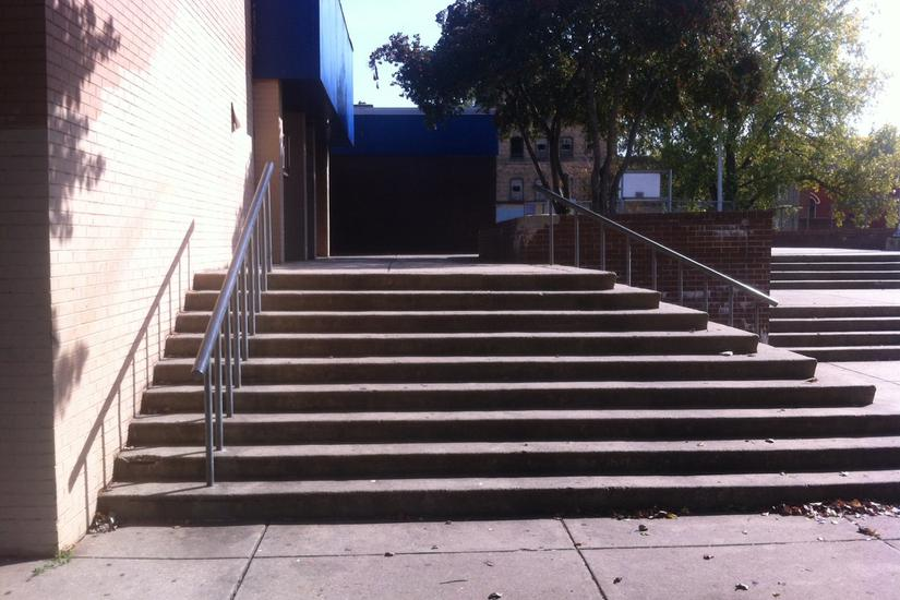 Image for skate spot Winchester Playground 9 Stair Rail