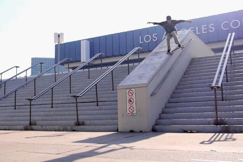 Image for skate spot Staples Center Hubba/18 Stair