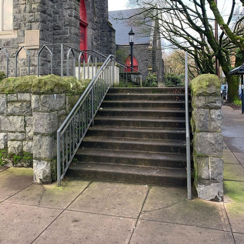 Image for skate spot Trinity Episcopal Cathedral 9 Stair